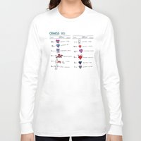 chinese Long Sleeve T-shirts featuring chinese 101 by Joanne Liu