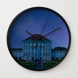 DE - BAVARIA : Nympfenburg palace Munich Wall Clock