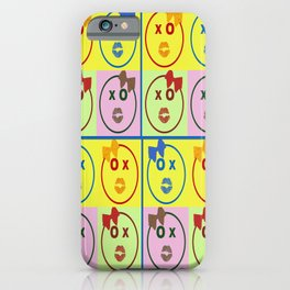 Kissy Lovey Face iPhone Case