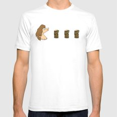 Raggy SMALL White Mens Fitted Tee