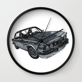 Old School Beamer Wall Clock