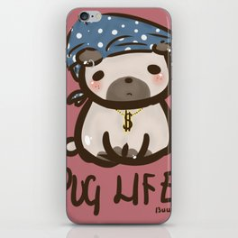 'Pug Life' iPhone Skin