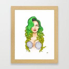 Jingle Bell Ball Artpop Mermaid  Framed Art Print