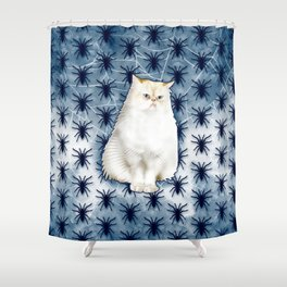 Sully 2017 Spider Shower Curtain