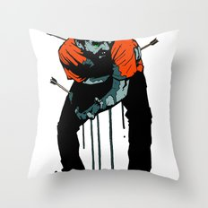 Stop Wasting Arrows And Aim For Its Head, You Damn Fools! Throw Pillow