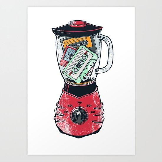 TapeMix2000 Art Print