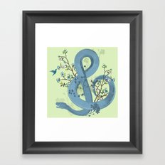 Music of the Serpent Framed Art Print