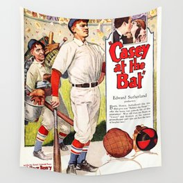 Casey at the Bat - Film Poster (1927) Wall Tapestry