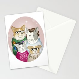 A Very Corgman Christmas Stationery Cards