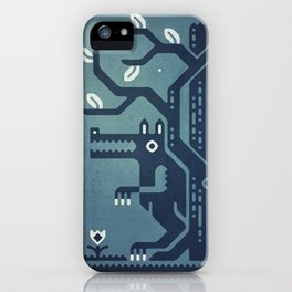 Midnight Menace iPhone Case