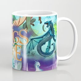 Wings Of Fire Painting Coffee Mug