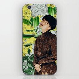 Garden Girl iPhone Skin