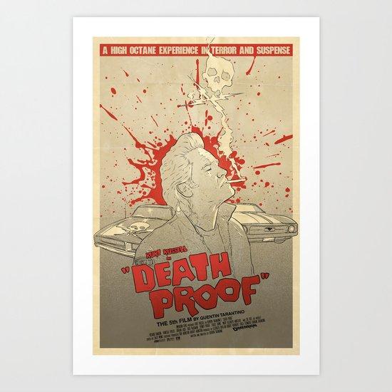 Death Proof Art Print