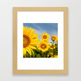 Right In Front Of You Framed Art Print