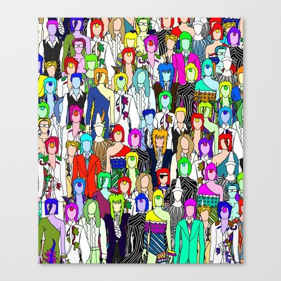Tokyo Punks One Canvas Print