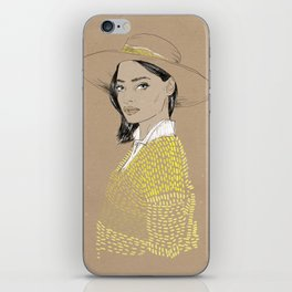 Hat iPhone Skin