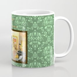 Sherlock Ferret and the Multiplying Masterpieces (cover) Coffee Mug