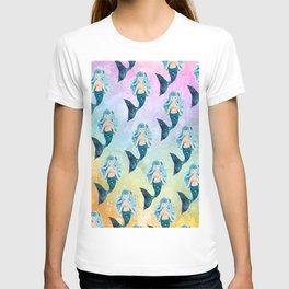 Rainbow Mermaid Bubbles T-shirt