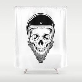 SAFETY DEAD Shower Curtain