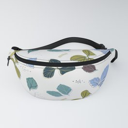 Greenery leaves Fanny Pack