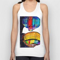 daft punk Tank Tops featuring Daft Punk by Archan Nair