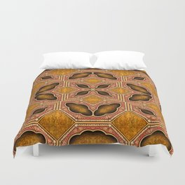 Victorian Art Deco Medieval Pattern SB35 Duvet Cover