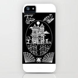 Ominous Victorian House Invert iPhone Case