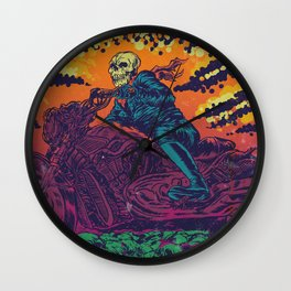 DOOM RIDER Wall Clock