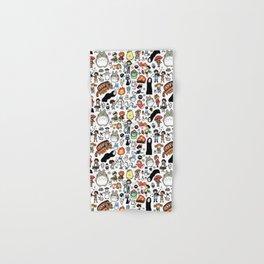 Kawaii Ghibli Doodle Hand & Bath Towel