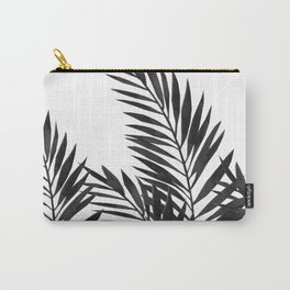 Palm Leaves Black Carry-All Pouch