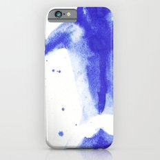 Woman in watercolour 2 iPhone 6 Slim Case