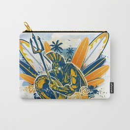 poseidon surfer aggression Carry-All Pouch