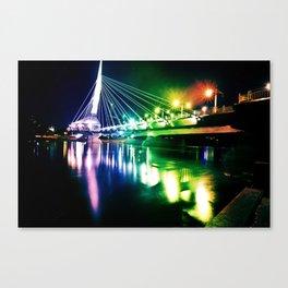 Provencher Bridge Canvas Print