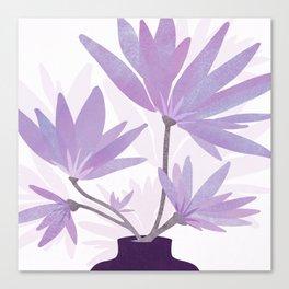 Lilac Blooms / Botanical Canvas Print