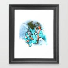 PAPERCUT   Troye Sivan Inspired Artwork Framed Art Print