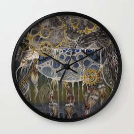 Divine Time Wall Clock