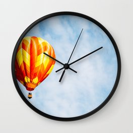 Paprika in the Sky Wall Clock