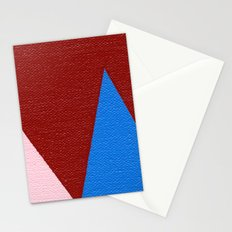 Blue Triangle Stationery Cards
