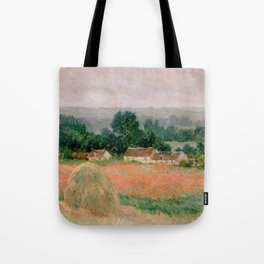 Haystack at Giverny Tote Bag