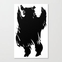 Ursa Noir Canvas Print