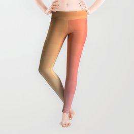 Lumen, Pink and Orange Light Leggings