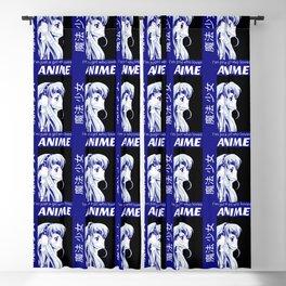 Anime Magic Girl Blackout Curtain