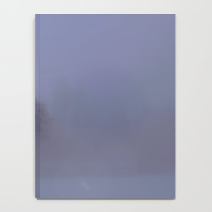 Silent Night in Foggy Atmosphere #decor #society6 Notebook