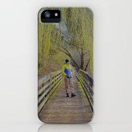 Willow Walkway iPhone Case