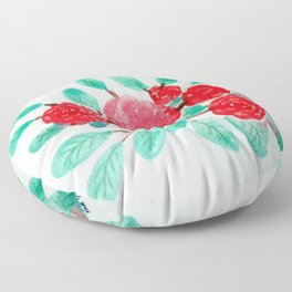 Roses V Floor Pillow