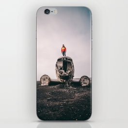 Iceland Airplane Wreck iPhone Skin