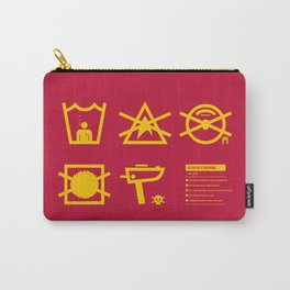Care Instructions: Crewman Carry-All Pouch