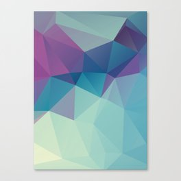 Contast2 – abstract polygram illustration Canvas Print
