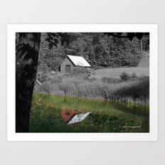 Color Reflection Art Print