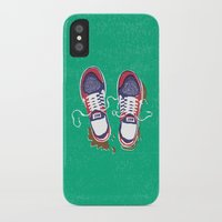 nike iPhone & iPod Cases featuring Nike trainers by Nomeski
